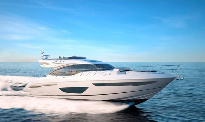 First Look Video of the Princess Yachts S65 with Yachting Magazine